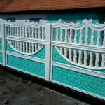 17)Декоративный забор