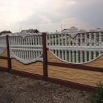 10)Декоративный забор