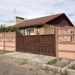 12)Декоративный забор