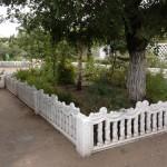 21)Декоративный забор
