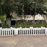 22)Декоративный забор