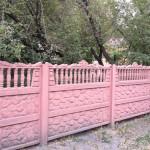 7)Декоративный забор