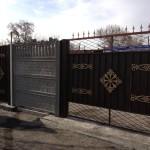 33.Металлические ворота, Караганда