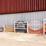 2.Забор ж/б декоративный