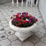 7)Декоративная ж/б ваза г.Караганда