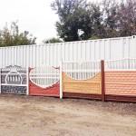 3.Забор ж/б декоративный