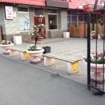 34)Вазы  ж/б декоративные г.Караганда