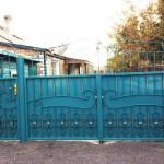 7.Металлические ворота с калиткой, Караганда